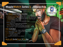 MapleWatch Series 6 - [Chris Two Designs]