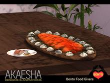 [Akaesha Catering] Smoked Salmon Bento Food Giver Seafood