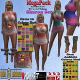 [*G&L*] SHARON DRESS FAT PACK LOVE MOMMA SLINK MAITREYA