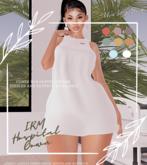 TIS x IRM Gown - Snow
