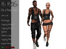 B BOS - Paul Outfit - Hate&Love  - (Add me)