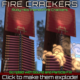 [inZoxi] - Self-Resetting Firecrackers!