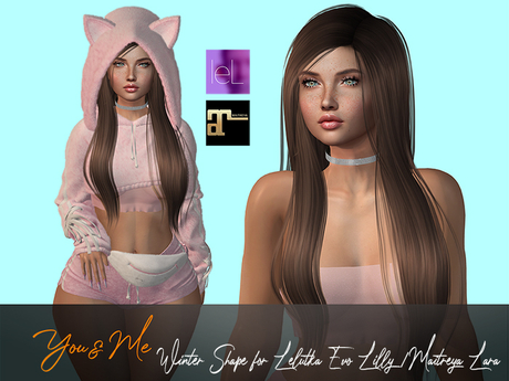 Winter Shape f. Lelutka Lilly 2.5/ Maitreya