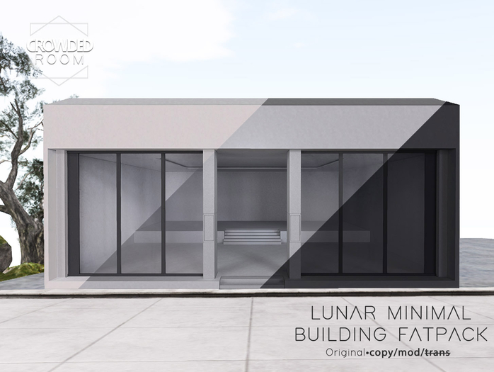 Crowded Room - Lunar Minimal Building - Fatpack