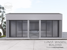 Crowded Room - Lunar Minimal Building - Concrete