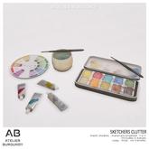 Atelier Burgundy . Sketchers Clutter *ADD*
