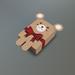 Valentine Teddy Bear Mesh Giftbox