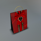 Be My Valentine Mesh Giftbag