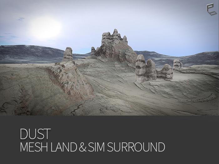 DUST  -  Mesh Terrain & sim surround rezzer