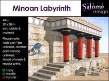 Minoan Labyrinth - Ancient Fun Building