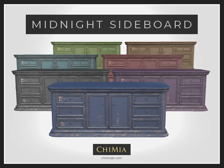 ChiMia:: Midnight Sideboard