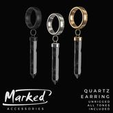 MARKED - Quartz Earring
