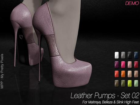 - MPP - Leather Pumps Set 02 - DEMO