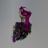 Pink Mardi Gras Krewe Maitreya Corset