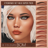 .:F L O Y D:.Eyebrows Set 8 Super Pack (BOM)