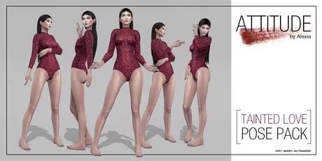 ATTITUDE TAINTED LOVE POSE PACK