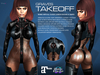 GRAVES Takeoff - leather latex bodysuit, catsuit, plugsuit, undersuit - Maitreya and Omega appliers