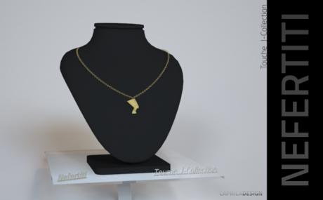CapricaDesign Nefertiti Necklace by Touche