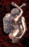 Wall Sculpture Art Bronze embrace
