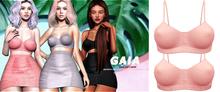Gaia - kaja top//blush