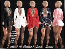 [ Mesh ] [ 6 Textured ] Jacket - Denisse