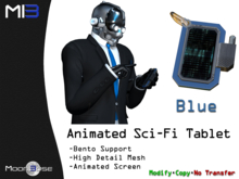 [MB3] Animated Sci-Fi Tablet - Blue