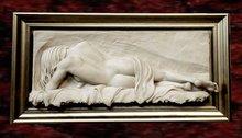 Wall Sculpture Art- Ivory Beauty