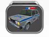 Dirt Russian Cop car