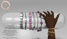 NaaNaa's Caninye Bracelets [Gold]