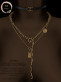NaaNaa's Teresa Necklace Set [Gold]