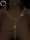 NaaNaa's Teresa Necklace Set [Silver]
