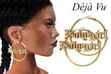 Deja Vu - Baby Girl Hoop Earrings [KUPRA]