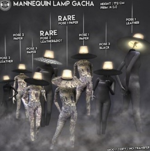 [Since1975]Mannequin Lamp-Pose3 Leather