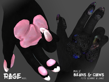 Rage: Mods. [Bento Beans & Claws - Male] (Wear / Unpack)
