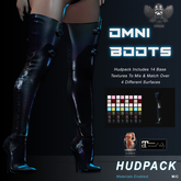 [The Forge] Omni Boots, (HUDPACK)