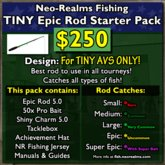 Neo-Realms Fishing: Epic TINY Rod Starter Pack