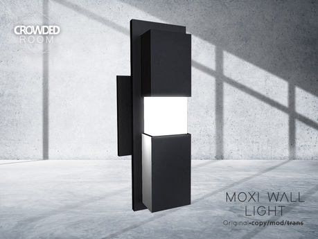 Crowded Room - Moxi Wall Light