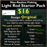 Neo-Realms Fishing: Light Rod Starter Pack