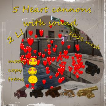 5 Cannons - Hearts *Box*