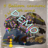 5 Cannons - Balloons *Box* DEMO