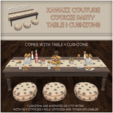 [: Kawaii Couture :] Cookie Party Table Chocolate Chip