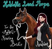 ~Mythril~ Keuring Halter Addon: Held Lead Ropes (Arabian)