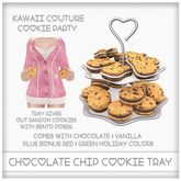 [: Kawaii Couture :] Chocolate Chip Sandwich Cookie Tray