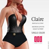[ADD] Claire BodySuit - BlackC