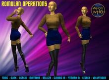 WW Romulan Operations Uniform ( female)