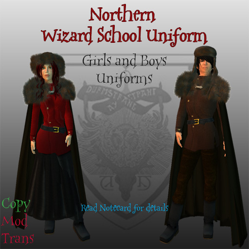 Second Life Marketplace Northern Wizard School Uniforms Дурмстранг) was one of the three largest wizarding schools in europe (the other two being hogwarts and beauxbatons). northern wizard school uniforms
