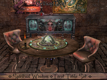 ☽☆☾ Spiritual Wisdom: Tarot Table Set