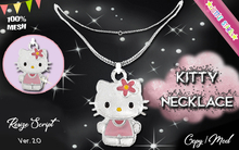 * {.:Little Stars.:} * Kitty MESH Necklace