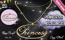 * {.:Little Stars.:} * Princess TD MESH Necklace