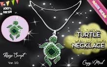 * {.:Little Stars.:} * Turtle TD MESH Necklace